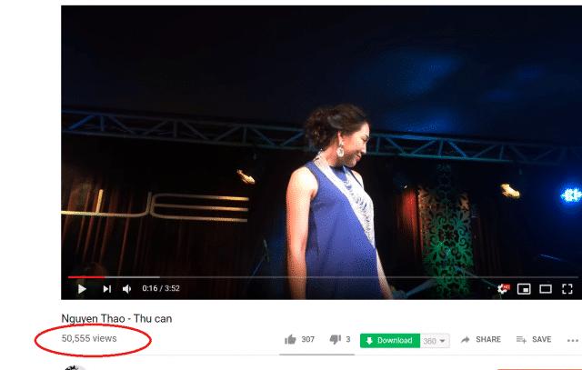 nguyen thao thu can youtube