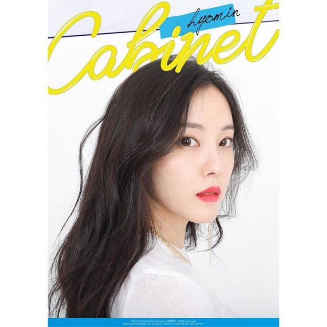 hyomin cabinet teaser