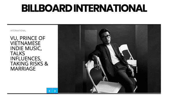 billboard international vu prince of viet indie
