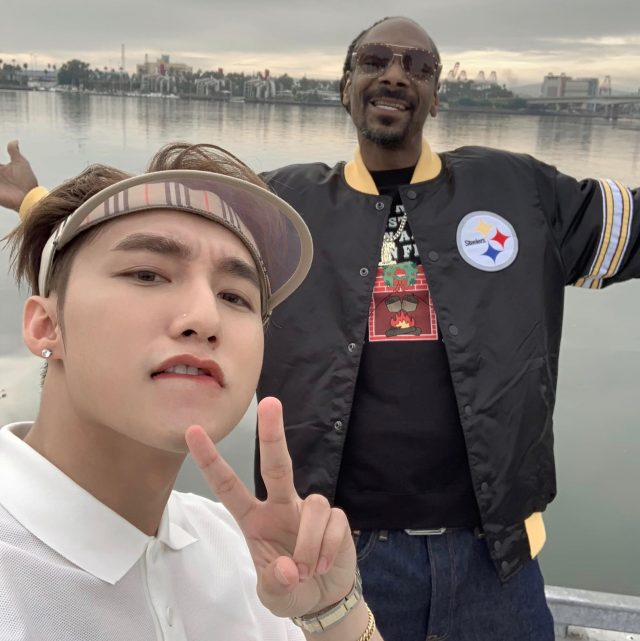 son tung and snoop dogg during set