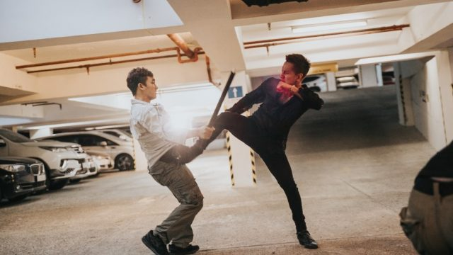 fight scene lou hoang vpop