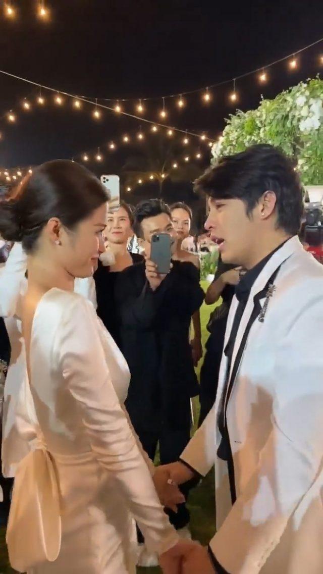 noo phuoc thinh at dong nhi's wedding