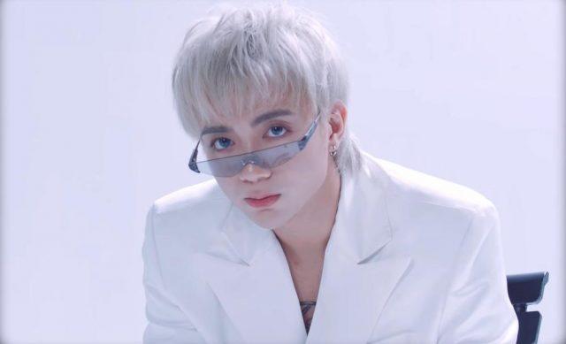 soobin say goodbye white hair