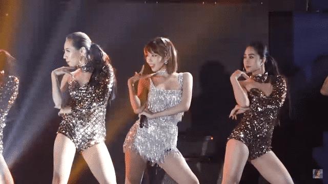 sexy min vpop in hanoi live stage