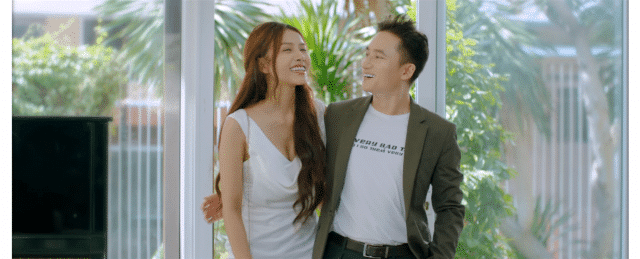phan manh quynh and his girlfriend