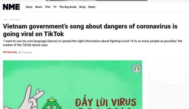nme coronavirus vietnamese song ghen co vy