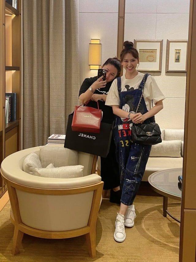 hari won esther luu vpop news