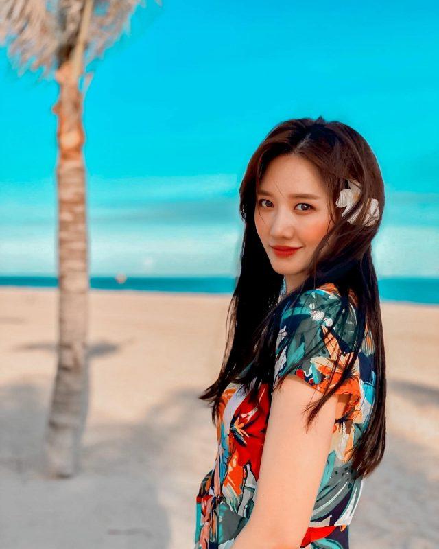 hari won vpop idol beach