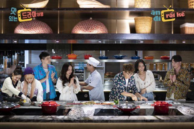 an di roi ke program vpop kpop vietnam korean food