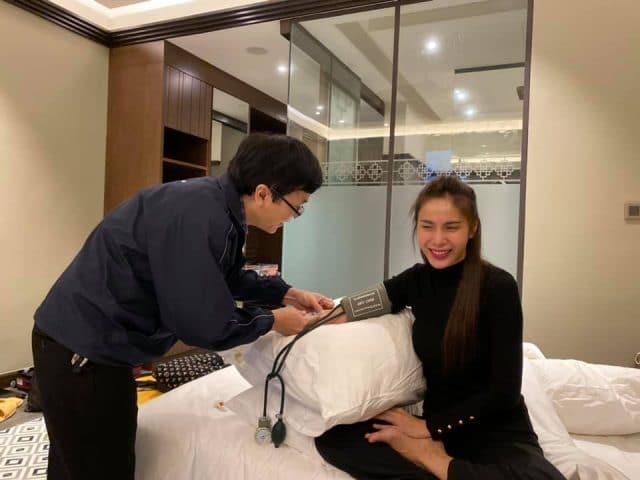 thuy tien doctor visit vietnam